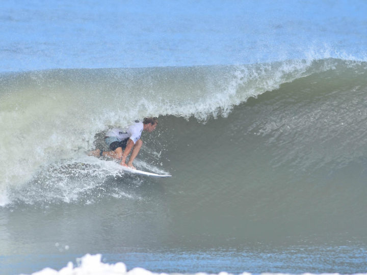 Chris Michalak (AUS) winning his Round Two heat at the WRV Outer Banks Pro QS1,000 pres. by Pacifico.